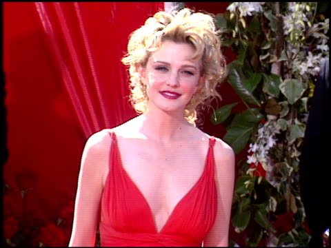 kathryn morris at the 2004 emmy awards arrival at the shrine auditorium in los angeles california on september 19 2004 - kathryn morris stock videos & royalty-free footage