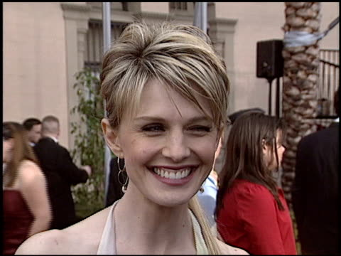 kathryn morris at the 2004 screen actors guild sag awards at the shrine auditorium in los angeles california on february 22 2004 - kathryn morris stock videos & royalty-free footage