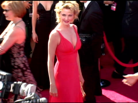 kathryn morris at the 2006 primetime emmy awards arrivals at the shrine auditorium in los angeles california on september 19 2004 - kathryn morris stock videos & royalty-free footage