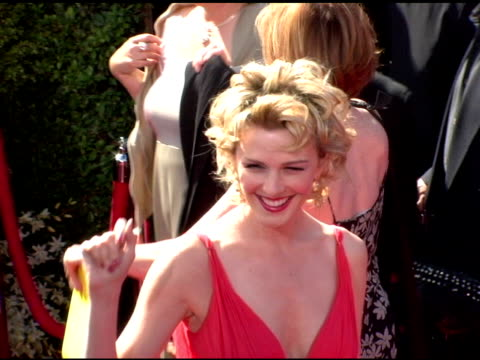 Kathryn Morris at the 2006 Primetime Emmy Awards arrivals at the Shrine Auditorium in Los Angeles California on September 19 2004