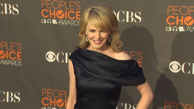 kathryn morris at the 36th annual people's choice awards at los angeles ca - kathryn morris stock videos & royalty-free footage