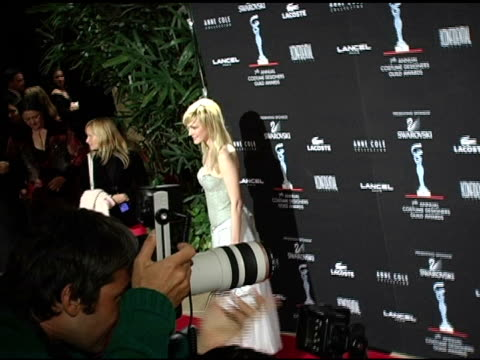 kathryn morris at the 7th annual costume designers guild awards gala at the beverly hilton in beverly hills california on february 19 2005 - kathryn morris stock videos & royalty-free footage