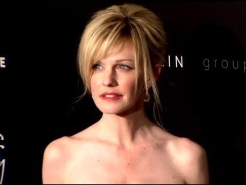kathryn morris at the costume designer's awards at the beverly hilton in beverly hills california on february 25 2006 - kathryn morris stock videos & royalty-free footage