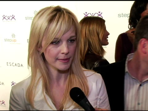 kathryn morris at the step up women's network inspiration awards sponsored by escada at the beverly hilton in beverly hills, california on april 27,... - escada stock videos & royalty-free footage