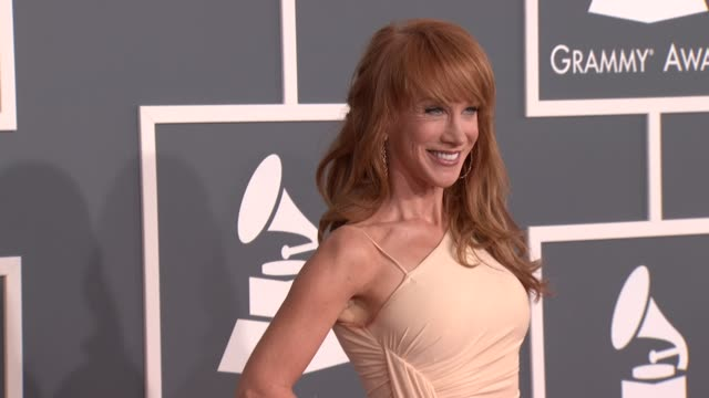 Kathy Griffin at 54th Annual GRAMMY Awards Arrivals on 2/12/12 in Los Angeles CA