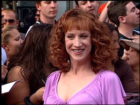 Kathy Griffin at the American Idol Finale at the Kodak Theatre in Hollywood California on September 4 2002