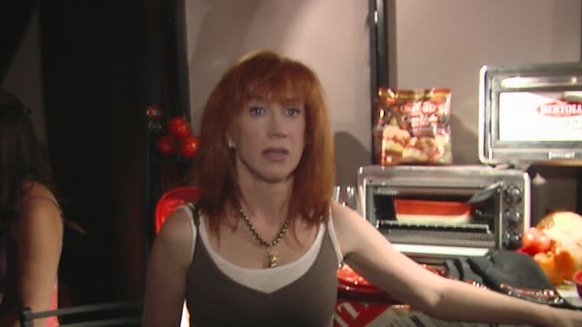 kathy griffin at the bertolli at the presenters gift lounge celebrating the primetime emmy awards hosted by aeg ehrlich ventures at los angeles ca. - gift lounge stock videos & royalty-free footage