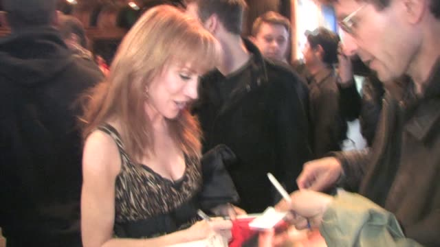 kathy griffin at the black eyed peas' seventh annual peapod benefit concert at the celebrity sightings in los angeles at los angeles ca - the black eyed peas band stock videos and b-roll footage