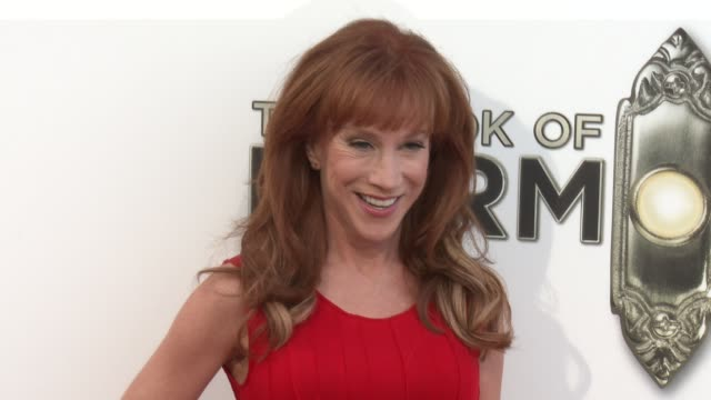 kathy griffin at the book of mormon los angeles opening night on 9/12/12 in los angeles ca - mormonism stock videos & royalty-free footage