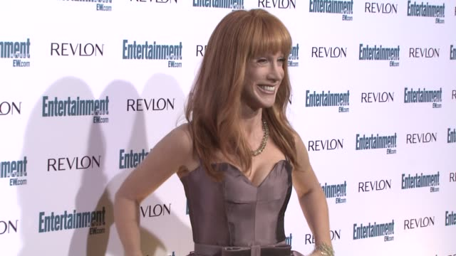 kathy griffin at the entertainment weekly 6th annual pre-emmy party at los angeles ca. - エンターテインメント・ウィークリー点の映像素材/bロール