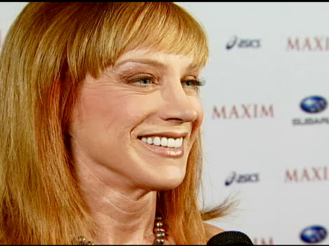 Kathy Griffin at the Maxim Magazine's ICU Event at Area in Los Angeles California on August 2 2007