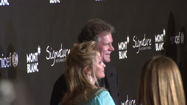 Kathy Hilton and Rick Hilton at the Montblanc Signature for Good Event In Association With UNICEF at Los Angeles CA