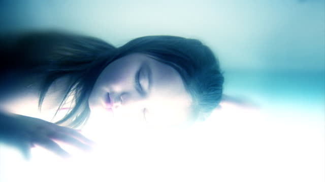 Kathy träumt-Schlafen Kind
