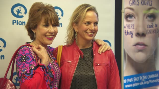 kathy lette and kirsty brimelow at 'india's daughter' vip screening and panel discussion at regent street on october 11 2015 in london england - kathy lette stock videos & royalty-free footage