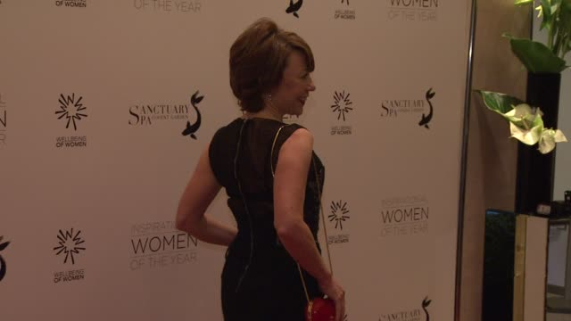 kathy lette at daily mail inspirational woman of the year awards at london marriott hotel on november 12 2012 in london england - kathy lette stock videos & royalty-free footage