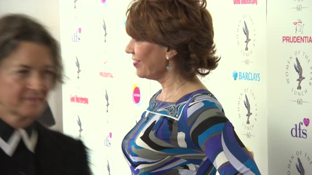 kathy lette at women of the year lunch and awards at intercontinental park lane hotel on october 13 2014 in london england - kathy lette stock videos & royalty-free footage
