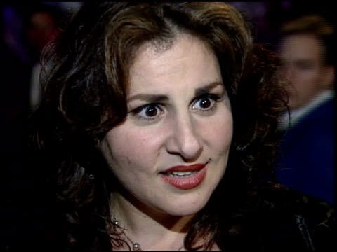 kathy najimy at the 1995 academy awards morton party at morton's in west hollywood california on march 27 1995 - 67th annual academy awards stock videos & royalty-free footage