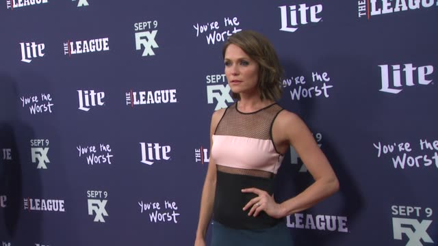 Katie Aselton at the Premiere of FXX's The League Final Season and You're The Worst 2nd Season at Regency Bruin Theater on September 08 2015 in...