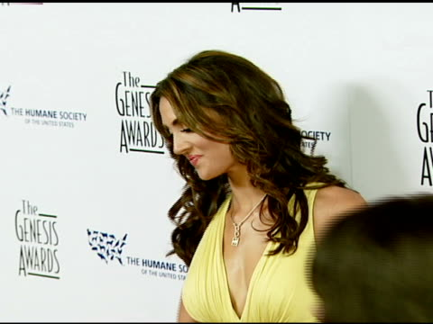 Katie Cleary at the 2008 Genesis Awards at the Beverly Hilton in Beverly Hills California on March 30 2008