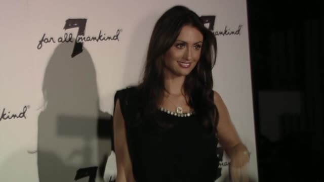 Katie Cleary at the Vanity Fair Hosts 7 For All Mankind 10th Anniversary Celebration at Beverly Hills CA