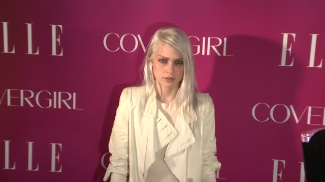 katie gallagher at 4th annual elle women in music celebration arrivals at the edison ballroom on april 10 2013 in new york new york - edison ballroom stock videos & royalty-free footage
