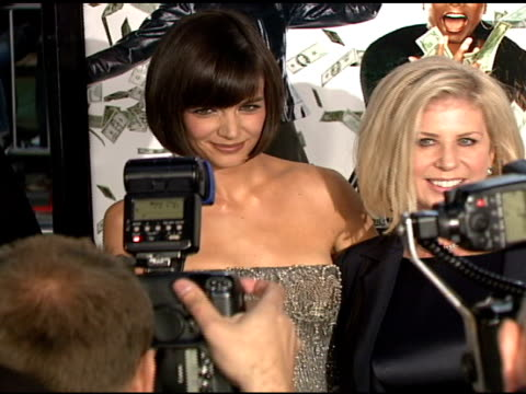 Katie Holmes and Callie Khouri at the 'Mad Money' Premiere at the Mann Village Theatre in Westwood California on January 9 2008