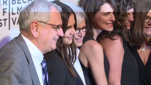"""katie holmes and guests at """"all we had"""" premiere - 2016 tribeca film festival at john zuccotti theater at bmcc tribeca performing arts center on... - tribeca festival stock videos & royalty-free footage"""