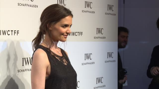 Katie Holmes at IWC Schaffhausen Fourth Annual For the Love of Cinema Gala During The Tribeca Film Festival 2016 at Spring Studios on April 14 2016...