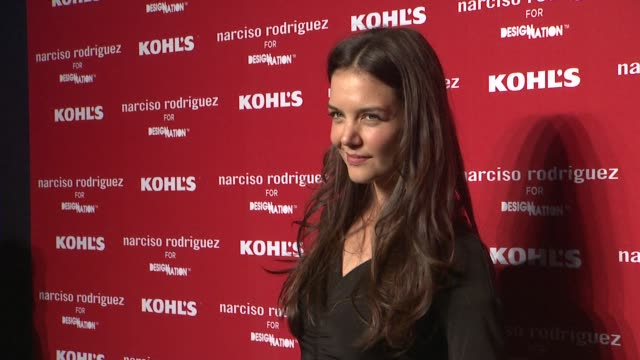 Katie Holmes at Kohl's Celebrates The Launch Of Narciso Rodriguez For Designation With Exclusive Collection Premiere at IAC Headquarters on October...