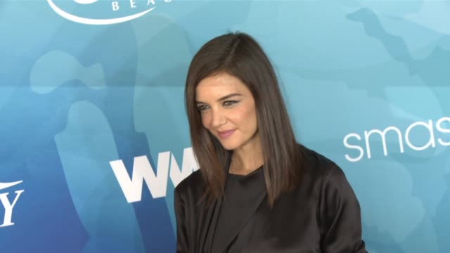 katie holmes at smashbox studios on november 19 2015 in culver city california - katie holmes stock videos and b-roll footage