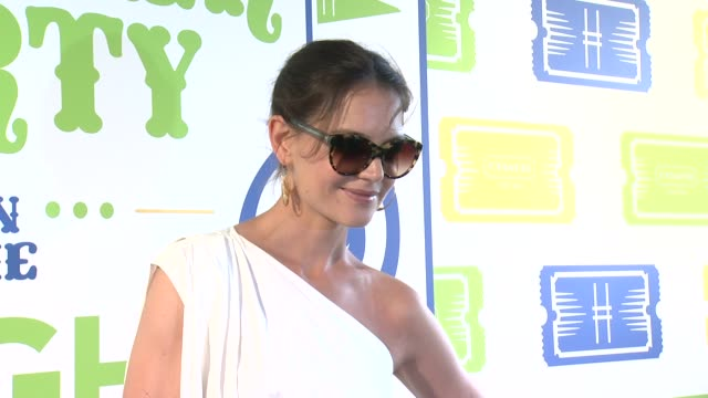 Katie Holmes at Summer Party On The Highline Presented By Coach at The High Line on June 11 2013 in New York New York