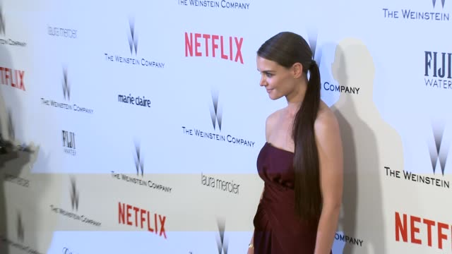Katie Holmes at the 2015 Weinstein Company And Netflix Golden Globe After Party at Robinsons May Lot on January 11 2015 in Beverly Hills California