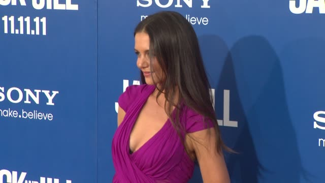 Katie Holmes at the 'Jack And Jill' World Premiere at Westwood CA