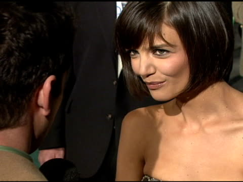 katie holmes at the 'mad money' premiere at the mann village theatre in westwood, california on january 9, 2008. - regency village theater stock videos & royalty-free footage