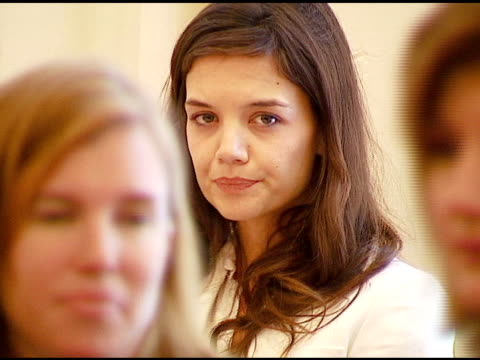 katie holmes at the vday and glamour honor women in conflict zones working for peace on february 21 2007 - katie holmes stock videos and b-roll footage