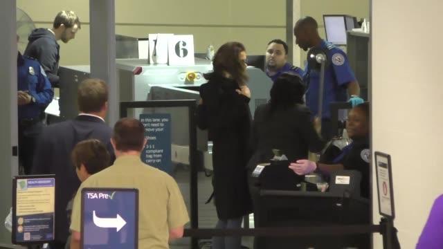Katie Holmes departing at LAX Airport in Los Angeles in Celebrity Sightings in Los Angeles