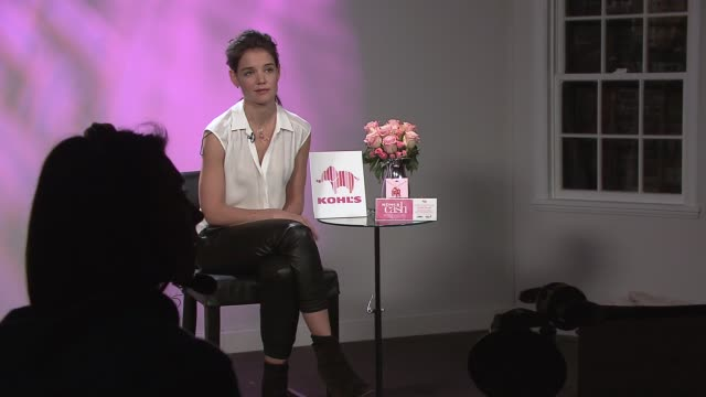 Katie Holmes Kohls Teams Up with Katie Holmes to Encourage Women to Start the Conversation About Breast Cancer at 226 W 26th St on February 13 2014...