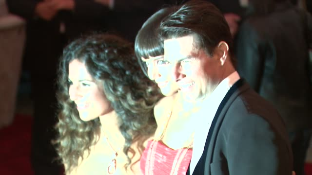 Katie Holmes Tom Cruise and guest at the Superheroes Fashion and Fantasy Costume Institute Gala at The Metropolitan Museum of Art at the Metropolitan...
