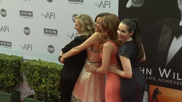 katie leclerc constance marie vanessa marano and marlee matlin at the afi life achievement awards a tribute to john williams at dolby theatre on june... - vanessa a. williams stock videos & royalty-free footage