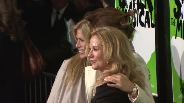 katie lee gifford and hoda kotb at the 'shrek the musical' broadway opening night at new york ny. - kathie lee gifford stock videos & royalty-free footage