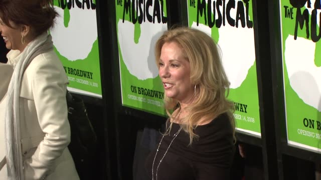 katie lee gifford at the 'shrek the musical' broadway opening night at new york ny. - kathie lee gifford stock videos & royalty-free footage