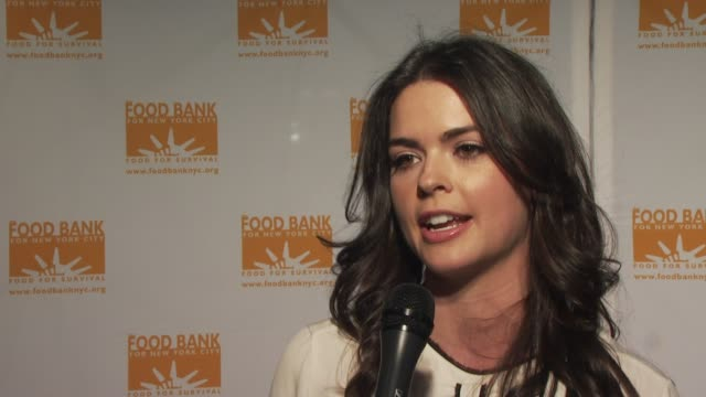 Katie Lee loves coming out to the Can Do awards year after year at the Food Bank for New York City's 8th Annual CanDo Awards Dinner at New York NY