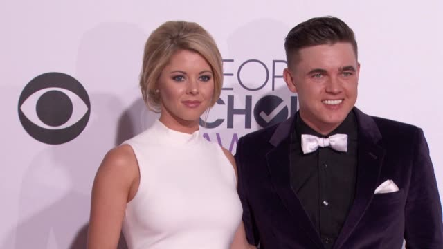 Katie Peterson Jesse McCartney at People's Choice Awards 2015 in Los Angeles CA