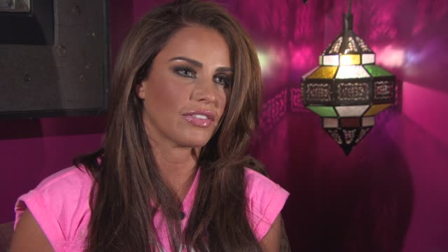 katie price on being an ambassador for colourb4, finally getting her hair in good condition, her love for changing hair colour and weave vs.... - good condition stock videos & royalty-free footage
