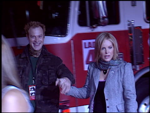 katie wagner at the 'ladder 49' premiere at the el capitan theatre in hollywood california on september 20 2004 - el capitan kino stock-videos und b-roll-filmmaterial