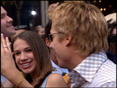 kato kaelin at the american idol finale at the kodak theatre in hollywood california on september 4 2002 - american idol stock videos and b-roll footage