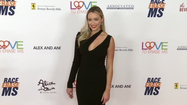 katrina bowden at the race to erase ms 25th anniversary gala at the beverly hilton hotel on april 20 2018 in beverly hills california - katrina bowden stock videos and b-roll footage