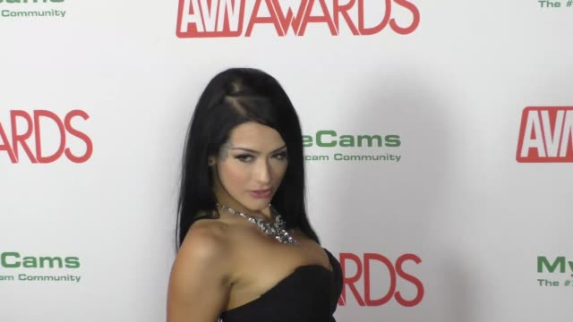 vídeos de stock e filmes b-roll de katrina jade at the 2017 avn awards nomination party at avalon nightclub in hollywood celebrity sightings on november 17 2016 in los angeles... - jade gema