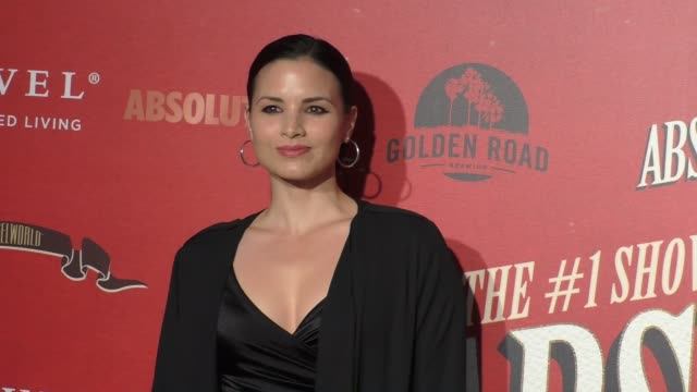 katrina law at the los angeles opening night performance of 'absinthe' on march 23, 2017 in los angeles, california. - absinth stock-videos und b-roll-filmmaterial