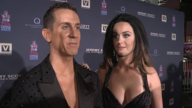 INTERVIEW Katy Perry and Jeremy Scott on what it means to be immortalized at the TCL Chinese Theatre why it was important for Katy to be here for...